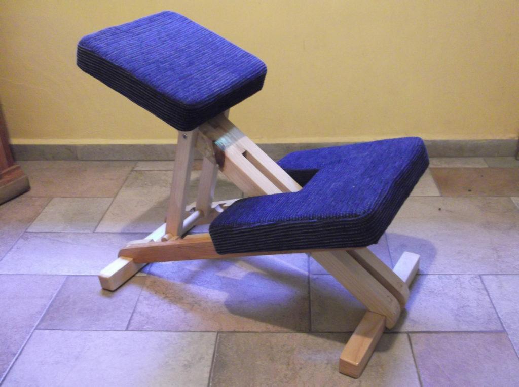 silla ergon mica de planos inclinados hecha a mano